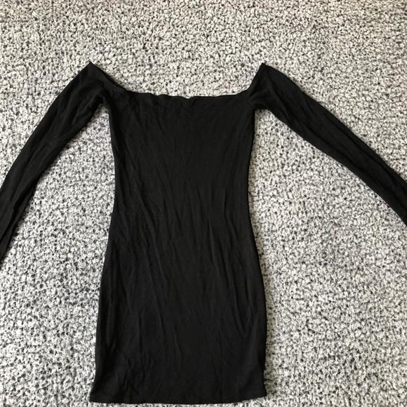 Long Sleeve Garage Mini Dress